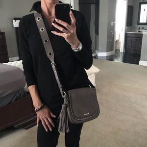 Michael Kors Leather crossbody purse / bag
